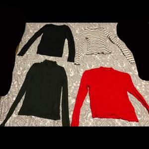 Tröjor i olika färger, 50kr st och 80kr för alla