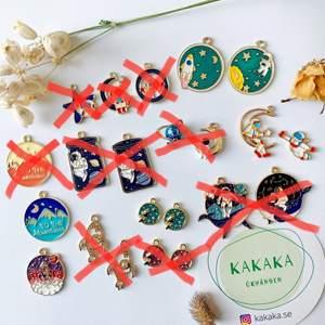 Min butik är öppnad 🎉 följ @kakaka.se på Instagram för senaste uppdatering ❤️ Jag har de mest unika, söta och prisvärda örhängen 😉 priset är cirka 60-75 kr per par, frakt är alltid gratis och ju mer du köper, desto mer rabatt 👯👯♀️🎁