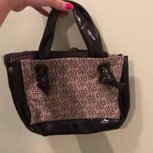 Gullig brun handväska!!! Bra skick,