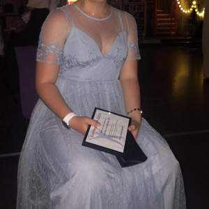 Hej💙 vet inte om det är några lärarmiddagar bröllop osv iår pga covid. Men om de är de så säljer jag min lärarmiddag klänning från 2019. Superfin klänning verkligen. Jag är en storlek S-M och den satt perfekt på mig. Den är från asos petite då jag är 155cm lång. Klänningen var dock fortfarande för lång men funngerade med högre klackar. Upptäckte nu att lappen sitter kvar, måste ha missat den när jag använde den😅 Frakt tillkommer🙈