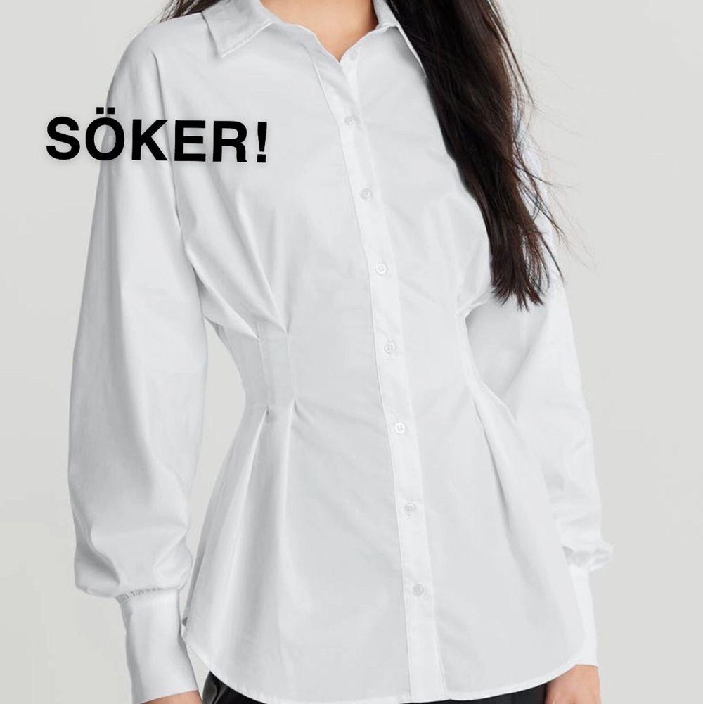 söker denna skjorta ifråm gina tricot! den heter