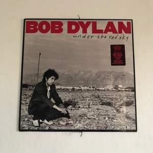 En Bob Dylan lp skiva från 90talet