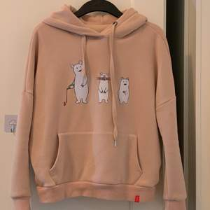 U need this for the next winter🥺 Super warm and soft, good material💕 with cute bears on it💕 Havent been woren for more than two times💕 Stretchy💕