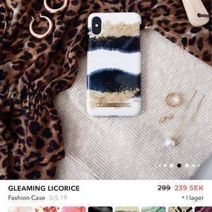 Använt har även några skador men inget man stör sig på. Köpt för 299kr säljs för 100kr + frakt. Passar iPhone xs max.