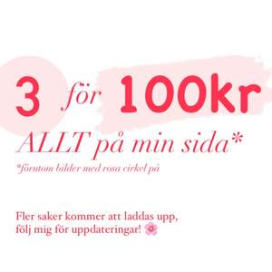 Köparen står för frakt 📩 3 FÖR 100 KR PÅ MIN SIDA JUST NU! 🌟