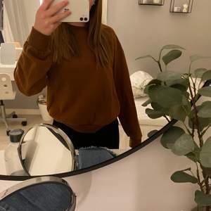 Säljer denna bruna/kastanjebruna sweatshirt som inte kommer till användning. Frakt tillkommer