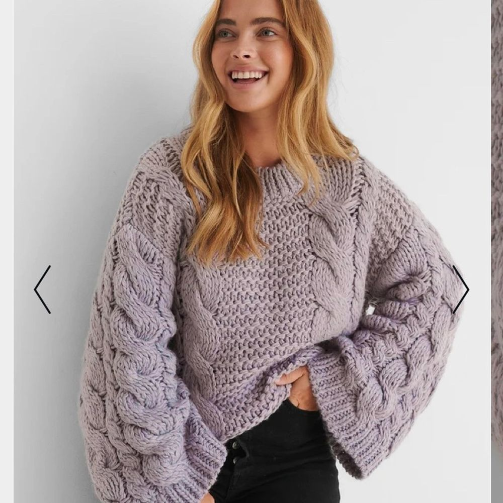Säljer nu min helt oanvända stickade tröja som jag aldrig användt. Köpte den för 499kr på NAKD🌸 passar någon som bär XS-M, det beror på hur man vill att den ska sitta🌸 högsta bud är 320kr🌸 budet är alltid bindande❤️. Tröjor & Koftor.
