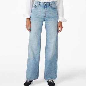 Säljer ett par Yoko Jenas ifrån Monki! Köpta här på plick men har aldrig kommit till användning då de är för långa för mig som är 1,66 lång! 💙 köpare står för eventuell fraktkostnad
