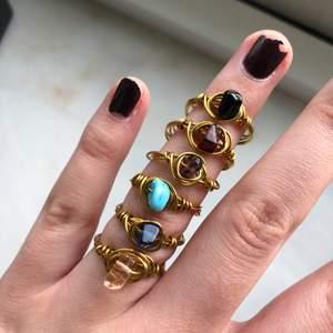 Säljer dessa 6 ringar för sammanlagt 80kr. Frakt 12kr💜