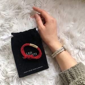 Eleganta och supersnygga armband från märket Leo Mazzotti (Nypris: 330kr styck) köp 1 för 200kr eller båda för 350kr, dustbag tillkommer vid köp av 2 ‼️ Vid högt intresse, buda i kommentarerna med +10kr (frakt 24kr) 🌹💕👏🏻✨