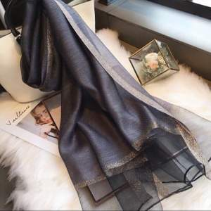 helt ny silke halsduk, 190cm * 75cm