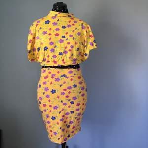 En st kjol och topp i stretchigt tyg🙌🏻 med resår i midjan på kjolen