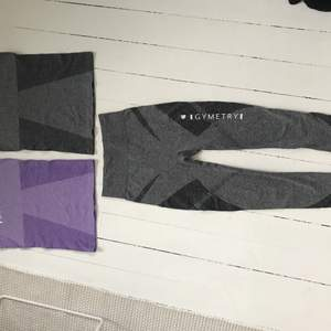 Säljer nya tights och linnen från NJIE.   Seamless tank top XS/S - grå och lila Seamless tights XS/S - grå   Kan köpas separat.   Pris: Linne 50 kr (nypris 500:-) Tights 100 kr (nypris 700:-)  Hämtas i Jönköping, Göteborg eller Falkenberg. Kan även skicka