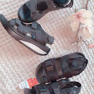 Säljer ett par helt nya Nike sandaler och ett par som inte är Nike dom passar perfekt på jobb eller en varm sommardag. Då dem inte används och bara tar plats vill jag få sålt dom. 500kr tillsammans