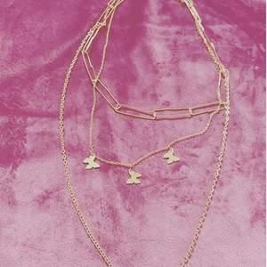 Halsband 3 chain I 1 för 50kr