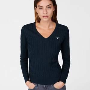 Gant stickad tröja. Använd 3 gånger max!  Som ny. Köpt för 1099kr