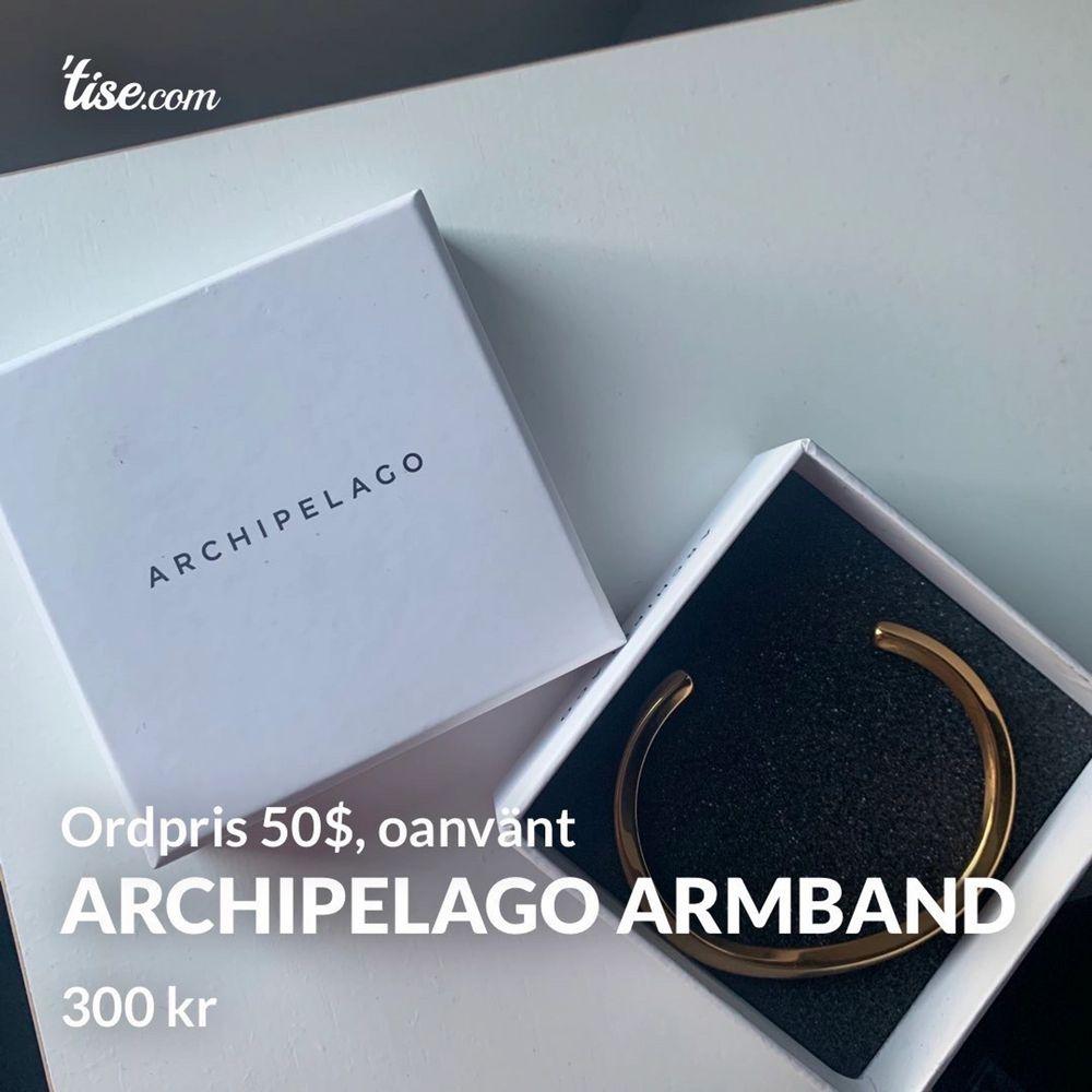 Helt nytt och oanvänt armband från Archipelago, säljes eftersom jag fick det i present men då jag är en silvertjejer har det aldrig kommit till användning. Ordinariepris är 50$, mitt pris 300 kr. Frakt tillkommer och betalning sker via swish💓 Skicka ett m. Accessoarer.