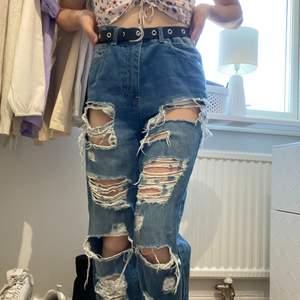 Blåa jeans från amisu 120kr ink frakt