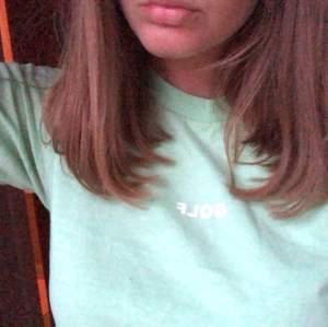 Äkta Golfwang tröja som inte längre säljs. Kostade mig runt 770 kr med frakt och tull och så från USA! Älskar färgen, lite tveksam på om jag ens vill sälja 😭 i nyskick