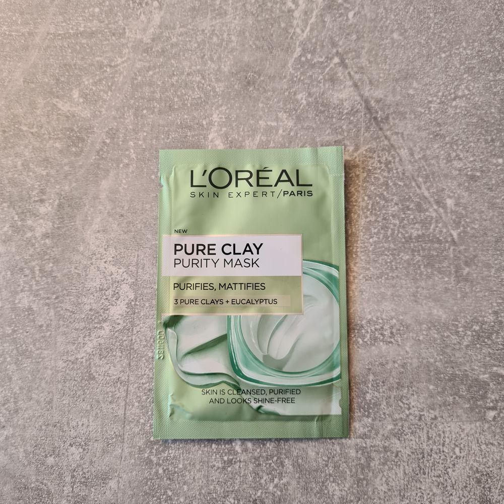 L'ORÉAL PARIS Pure Clay Mask, ny och plomberad.. Övrigt.