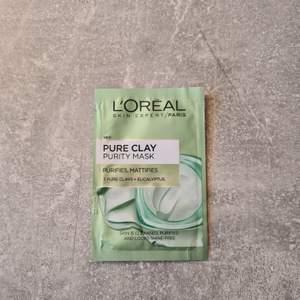 L'ORÉAL PARIS Pure Clay Mask, ny och plomberad.