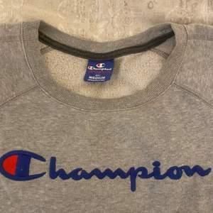 Säljer en Champion sweatshirt, använt många gånger och därav priset. Är i storlek M, passar dock S också. Bra kvalite, har fickor vid sidorna. Frakt står du för själv!😊