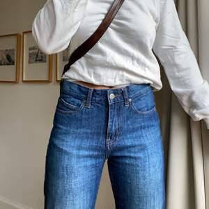 Supersköna raka jeans från DrDenim, midwaist⭐️frakt tillkommer tillkommer!