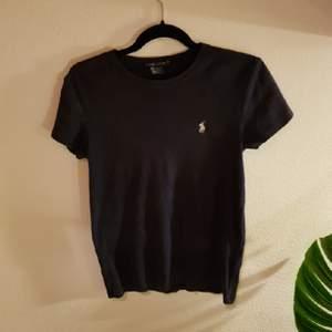 mörk blå Ralph Lauren tröja