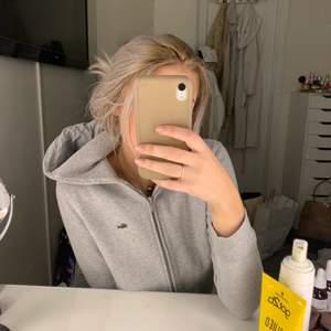 Grå hoodie från Lacoste i väldigt gott skick och god kvalitet