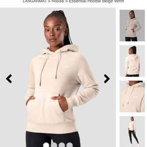 Begie hoodie från Icaniwill. Oversize passform, Justerbar luva. Storlek L. Nypris 599. Aldrig använd. Frakt ingår