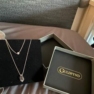 Ett silver halsband från guldfynd, aldrig använd