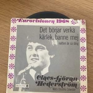 Vinyl skiva från 1968. kontakta vid intresse