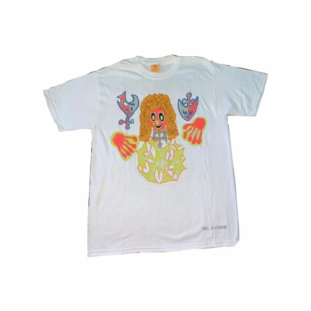 Bladee Exeter white tee (album cover). Condition: 9.5/10 . T-shirts.