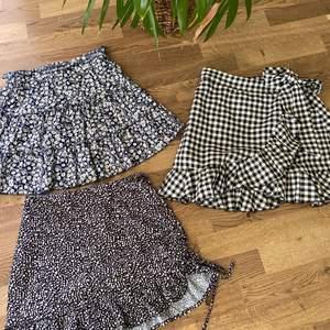 Säljer dessa fina kjolar från SHEIN❣️ Alla ä i samma storlek, skriv privat för fler bilder💕💕 75kr styck