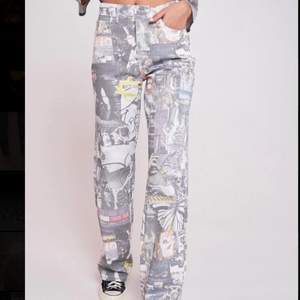 Fräcka jeans från Jaded London! Använt 1 gång, köpta för 680kr, säljer för 490kr + 66kr frakt💓💓