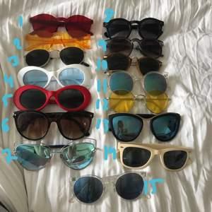 Solglasögon! Ett par för 20kr, 2 för 35kr, 3 för 50kr!