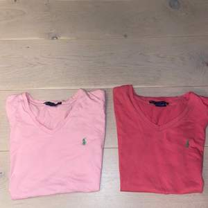 V ringade Ralph Lauren t-shirts (strl XS)