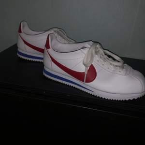 Sprillans nya Nike skor, storlek 38. Gick inte till mycket användning. För mer info kontakta mig!