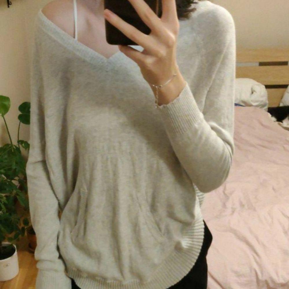 Mysig tröja från Saint Tropez i storleken S. Säljer då den är något stor för mig. Blusar.
