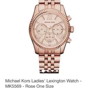 Äkta Michael Kors klocka. Använt den vid enstaka tillfällen, därför är den i mycket gott skick. Säljer den för att jag inte gillar att använda klockor i överlag. Budet börjar från 1500 kr.