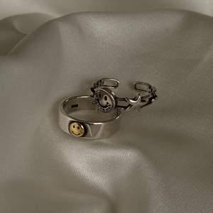 Justerbar, unisex och i äkta sterling silver 925🖤 HELT NYA, 110kr styck eller båda för 200kr!!💥