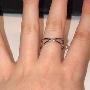 Säljer denna ringen från h&m. Jättefin. Har inte använts lite för stor för mig👍🏼