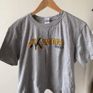 grå t-shirt i storlek L