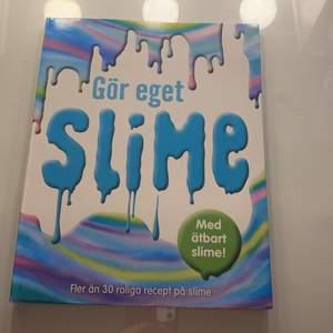 Säljer den här slime boken för jag har igen användning av den någon mer. Finns både är bart slime och vanliga slime recept. Väldigt bra recept i boken.