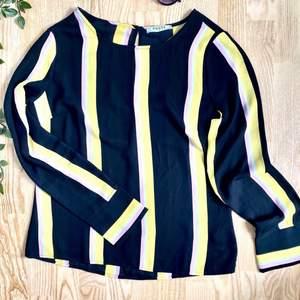Säljer lite kläder som jag inte använder längre, BILLIGT! Kolla min profil. Här har vi en färgglad blus, storlek S. Säljer den för 70 kr + Frakt. Betalas med Swish. Skicka PM om ni vill ha fler bilder🤍