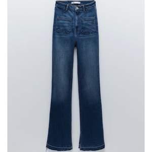 Säljer mina superfina jeans från Zara med slits!! 💕🙌🏼