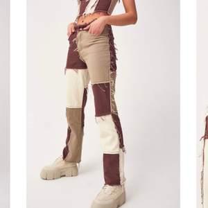 Super coola jeans från jaded london! Söker pga att de inte passade! Nypris 829kr🤎 kan mötas upp i Sthlm eller kunden står för frakten!