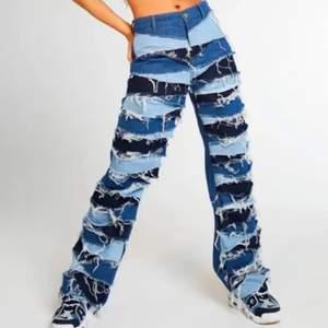 Säljer dessa oanvända jeans från Jadedlondon. Orginalpriset var 864kr + frakt från England. Känner inte att jag vill betala för att skicka tillbaka dem så sänker istället priset till 500kr plus frakt. Kan skicka fler bilder vid intresse!