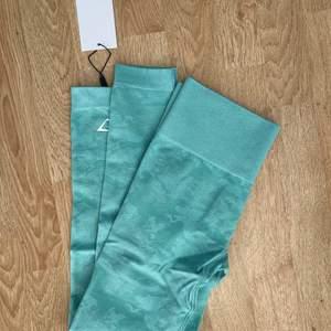 Säljer helt oanvända tights från gymshark! Slutsålda på hemsidan! Nypris: 650kr!