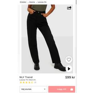HELT NYA jeans från nelly som är för stora för mig därför säljer jag dem. Passar de som är 170+
